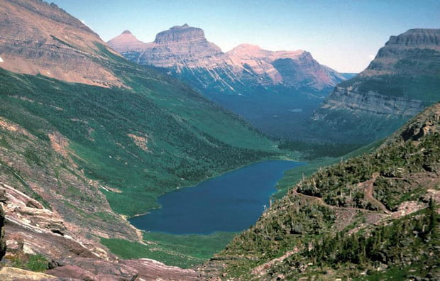 Glacier national park, glacier valley