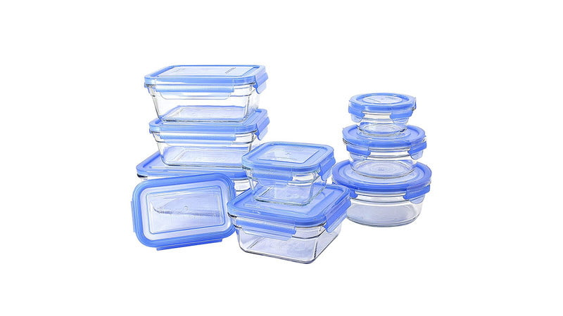 Glasslock 18-Piece Oven Safe Assortment Set