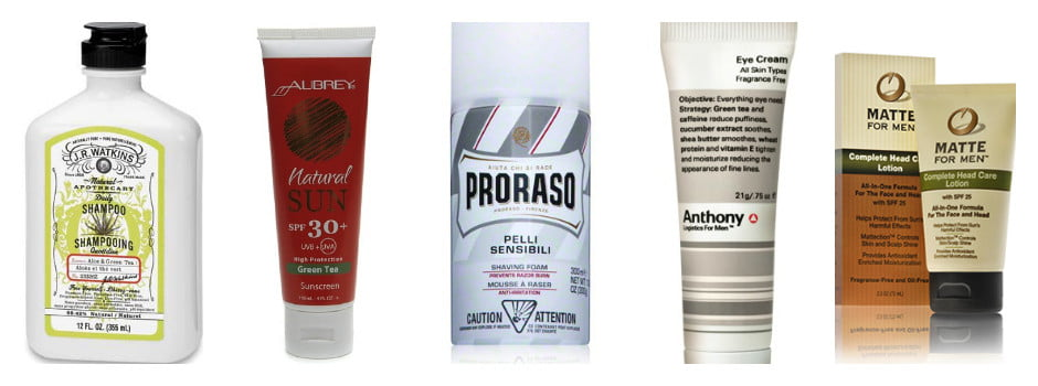 Green Tea Grooming Products Proraso anthony logistics matte for men jr watson aubrey organics moisturizer sunscreen uv protection shave foam eye cream buy sale purchase discount mens grooming health antioxidants anti-aging wrinkles