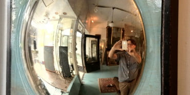 Robert Hines Convex Mirror