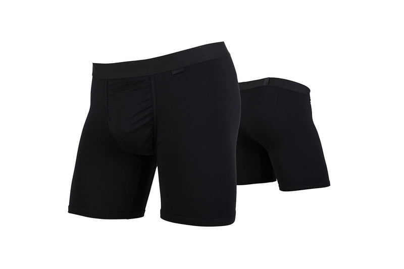 black mypackage shorts