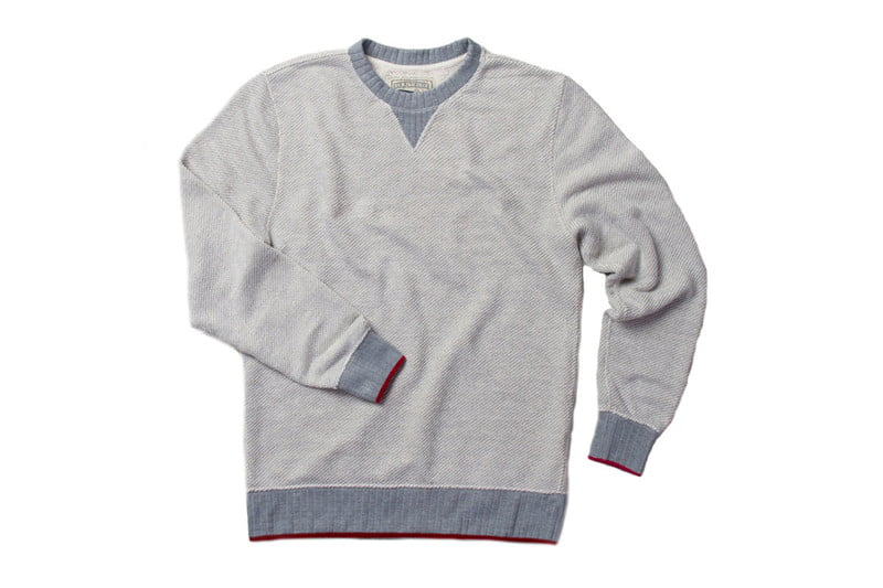 Homespun French Terry Sweatshirt by ACE RIVINGTON
