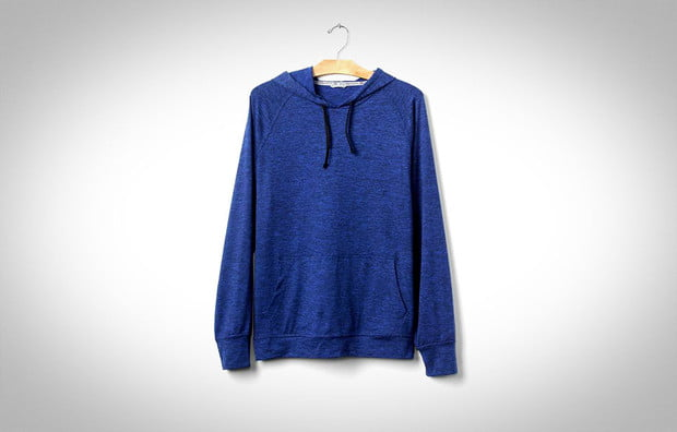 mens activewear, athleticwear, GAP, Soft Brushed Jersey Hoodie, review