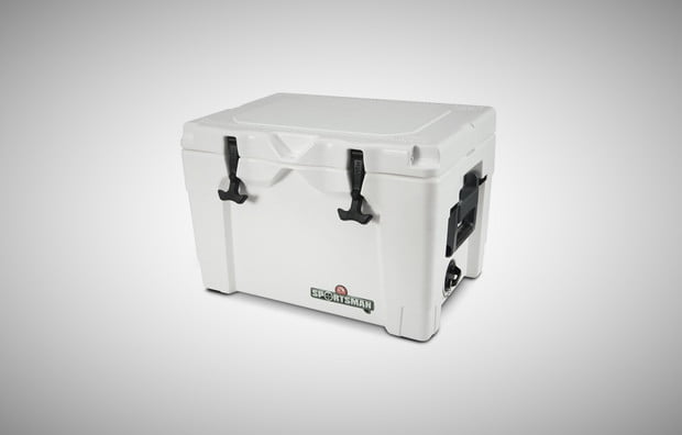 Igloo Sportsman cooler, road trip, gear, camping