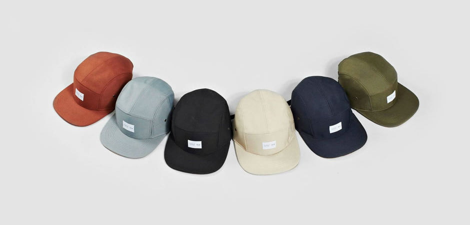 5 panel polyester hat