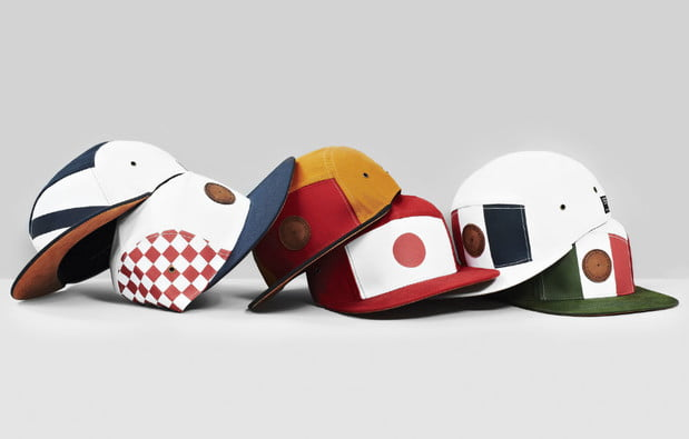 World cup team hats