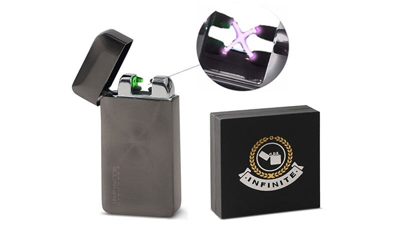 Infinite Electric Flameless Dual Arc Plasma Lighter