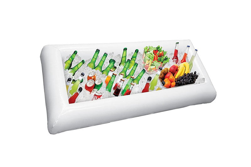 Inflatable Serving Bar and Cooler
