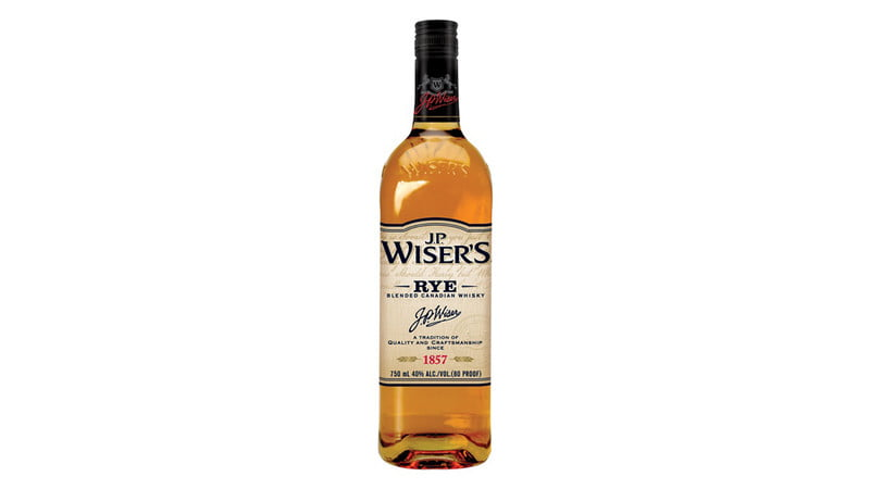 J.P. Wiser's Rye Canadian Whiskey