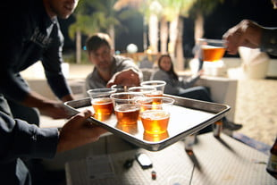 craft beer at the hangout