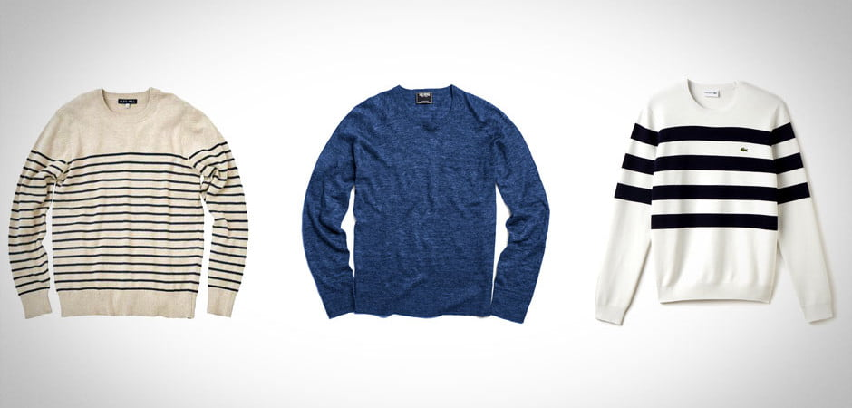 Summer sweaters, nautical sweaters