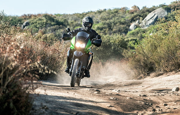 Got a dirty mind? The KLR 650 can probably read it.