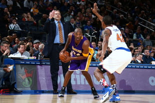 Kobe Bryant's future is in question - NBAE/Getty Images
