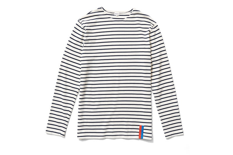 kule, the mister, long sleeved, striped shirt