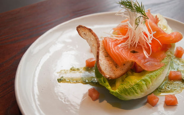 LCK Smoked Salmon Wedge - Photo Cred Matthew Pisano