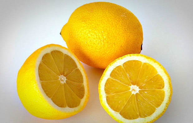 lemons, how to remove rust stains