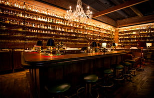 The Multnomah Whiskey Library in Portland has one of the largest selections of rare whiskeys in the nation.