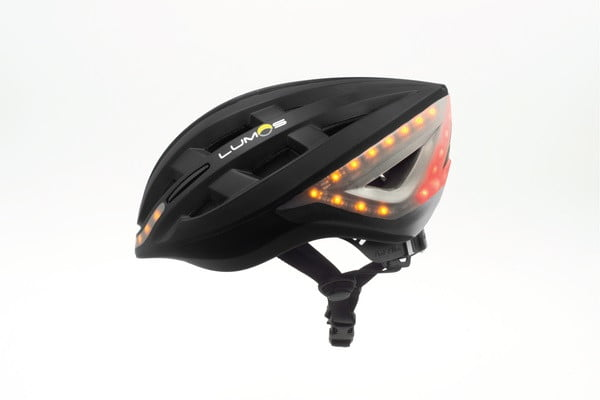 lumos bike helmet profile view