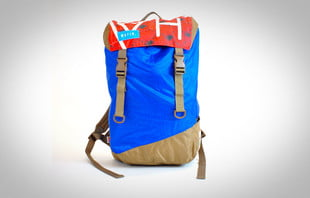 mafia backpack made from recycled sails