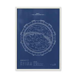Map-I-—-The-Northern-Sky valentine's day gift guide