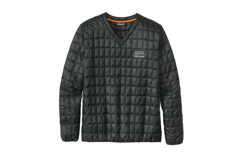 patagonia v neck down pullover