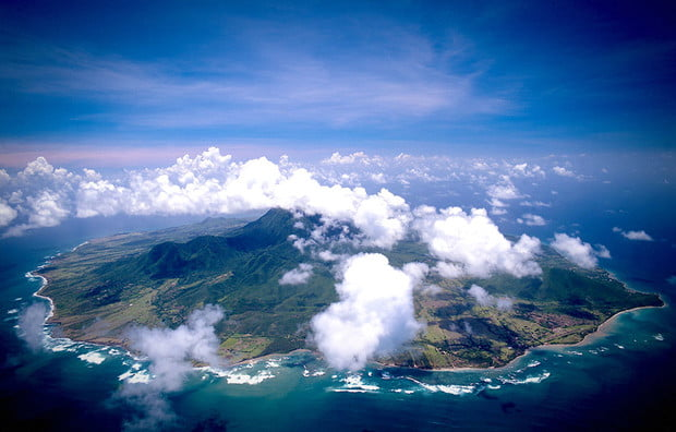 Nevis island, unknown Caribbean islands, Caribbean
