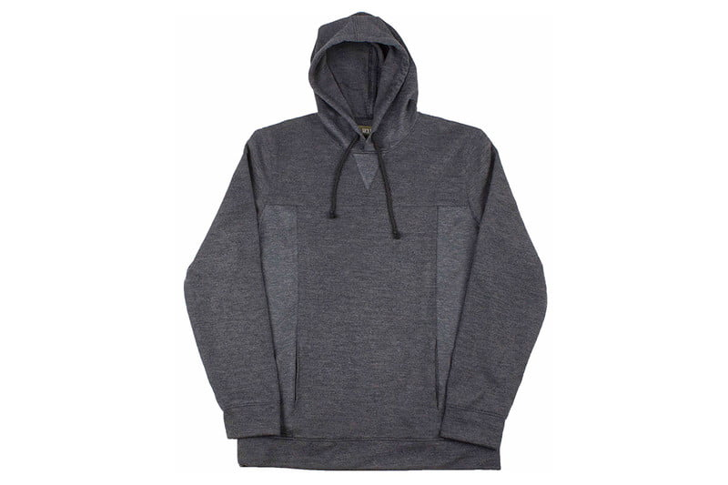 Nidal Hoodie in Charcoal by WOLF & MAN