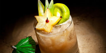 Orgeat Mai Tai cocktail
