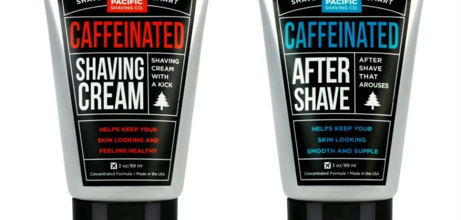 Pacific Shaving Co - Caffeinated Shaving Products