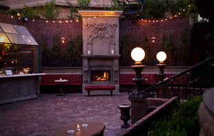 patio of los angeles speakeasy no vacancy at the juniper hotel