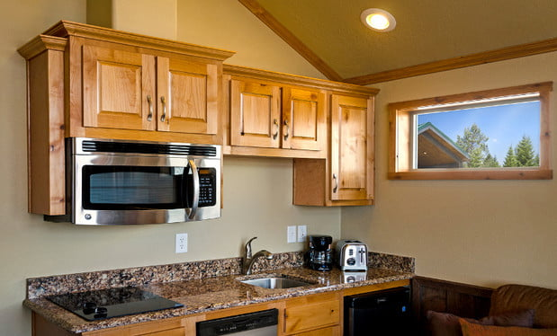 Amenities at the Explorer Cabins at Yellowstone