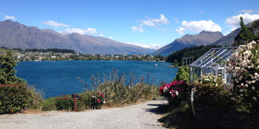 Queenstown offers many picturesque views. Photo by Shandana A. Durrani