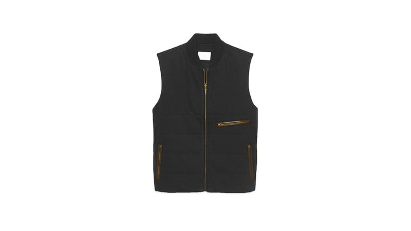 QUILTED VEST BY BILLY REID