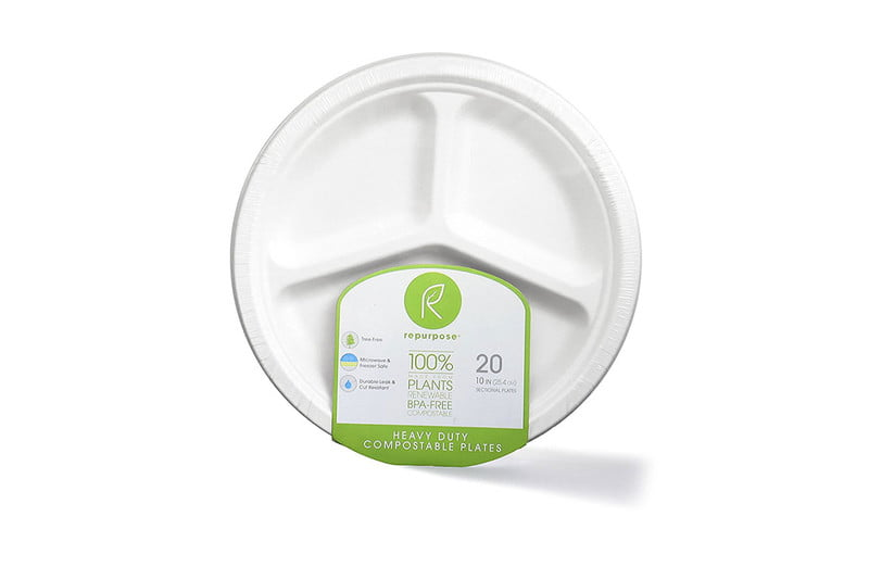 Repurpose 100% Compostable Tree-Free Plates