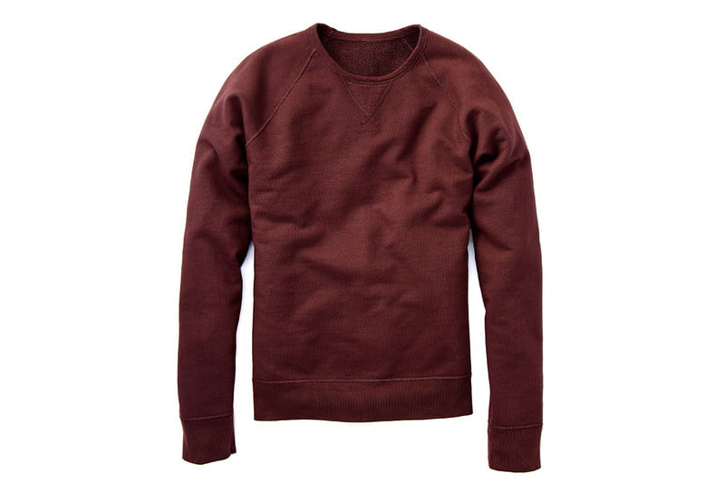 Reversible French Terry Sweatshirt by FLINT AND TINDER