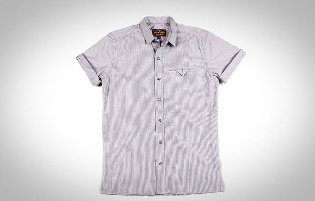 Rob j woz, button up, short sleeve, collared shirt