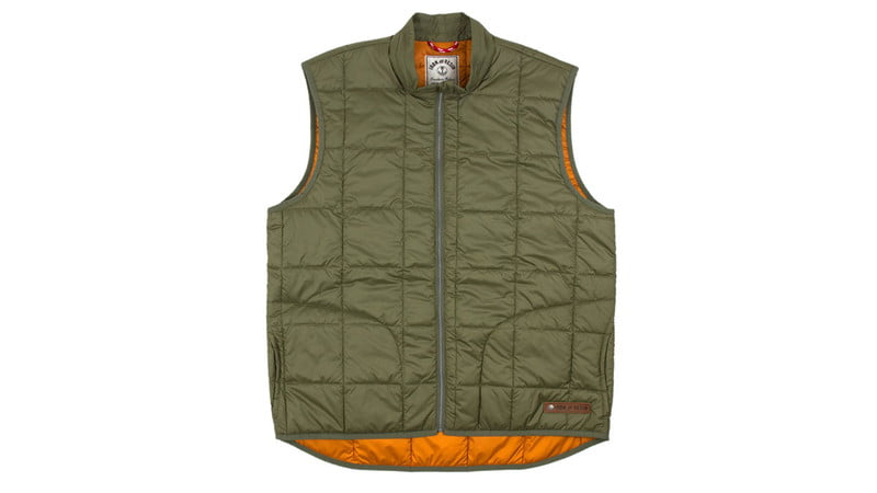 ROGUE VEST IN MILITARY BY IRON AND RESIN