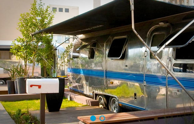 Rooftop Trailer Park at Grand Daddy Hotel in Cape Town