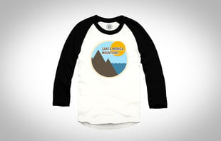 santa monica limited edition tee for parks project