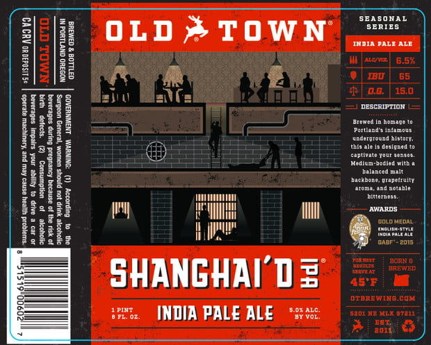 old town brewing, shanghai'd ipa