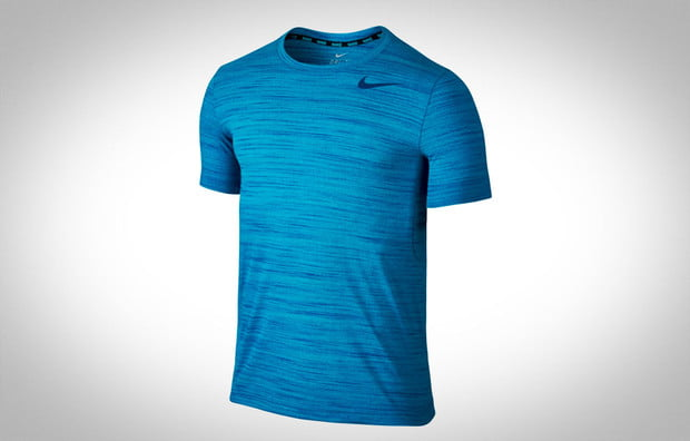 mens activewear review, nike, dri-fit, t-shirt, heathered t-shirt