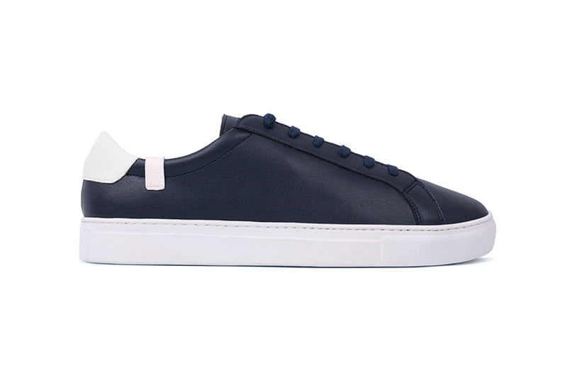 house of future navy low top