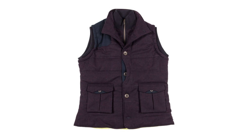 STACK DOWN VEST BY DESCENDANT OF THIEVES