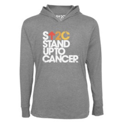 stand up to cancer burned