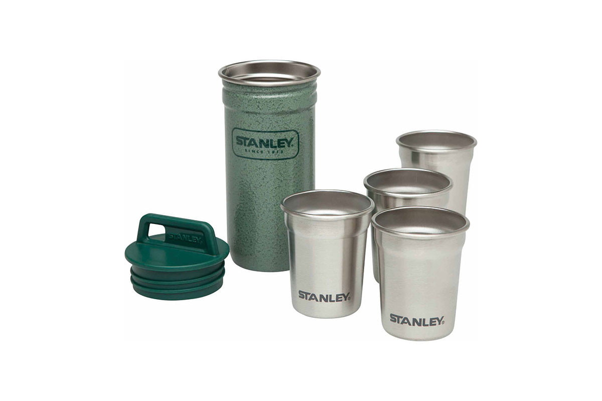 stanley shot glasses and carrying case