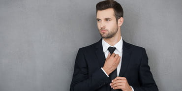 Stock-Man-in-Suit-2, How to Wear a Suit