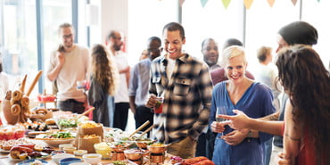 Stock-Sports-Party with Food, march madness snacks