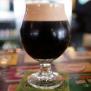 stout glass beer