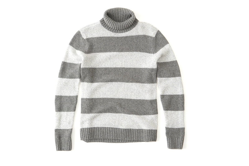 Striped Turtleneck Sweater by ABERCROMBIE & FITCH