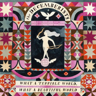 The Decemberists - What a Terrible World cover